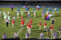 Raider Marching Band during Fall Meet The Raiders, TASD Sports Stadium, Tamaqua, 8-26-2015 (130)