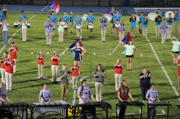Raider Marching Band during Fall Meet The Raiders, TASD Sports Stadium, Tamaqua, 8-26-2015 (131)