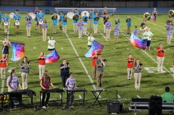 Raider Marching Band during Fall Meet The Raiders, TASD Sports Stadium, Tamaqua, 8-26-2015 (132)