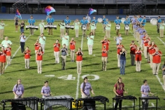 Raider Marching Band during Fall Meet The Raiders, TASD Sports Stadium, Tamaqua, 8-26-2015 (138)