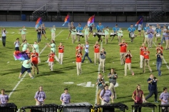 Raider Marching Band during Fall Meet The Raiders, TASD Sports Stadium, Tamaqua, 8-26-2015 (143)