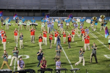 Raider Marching Band during Fall Meet The Raiders, TASD Sports Stadium, Tamaqua, 8-26-2015 (144)