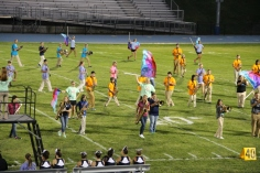 Raider Marching Band during Fall Meet The Raiders, TASD Sports Stadium, Tamaqua, 8-26-2015 (147)