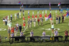 Raider Marching Band during Fall Meet The Raiders, TASD Sports Stadium, Tamaqua, 8-26-2015 (153)