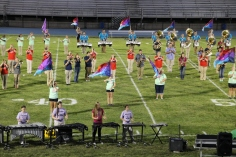 Raider Marching Band during Fall Meet The Raiders, TASD Sports Stadium, Tamaqua, 8-26-2015 (155)