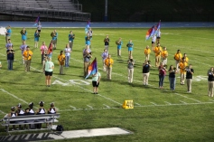 Raider Marching Band during Fall Meet The Raiders, TASD Sports Stadium, Tamaqua, 8-26-2015 (158)