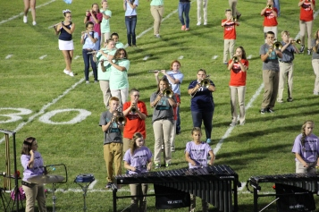Raider Marching Band during Fall Meet The Raiders, TASD Sports Stadium, Tamaqua, 8-26-2015 (161)