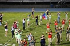 Raider Marching Band during Fall Meet The Raiders, TASD Sports Stadium, Tamaqua, 8-26-2015 (162)
