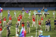 Raider Marching Band during Fall Meet The Raiders, TASD Sports Stadium, Tamaqua, 8-26-2015 (163)