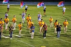 Raider Marching Band during Fall Meet The Raiders, TASD Sports Stadium, Tamaqua, 8-26-2015 (170)