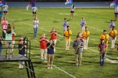 Raider Marching Band during Fall Meet The Raiders, TASD Sports Stadium, Tamaqua, 8-26-2015 (172)