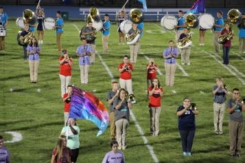 Raider Marching Band during Fall Meet The Raiders, TASD Sports Stadium, Tamaqua, 8-26-2015 (175)