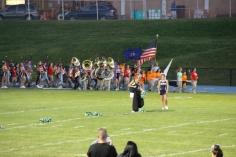 Raider Marching Band during Fall Meet The Raiders, TASD Sports Stadium, Tamaqua, 8-26-2015 (18)