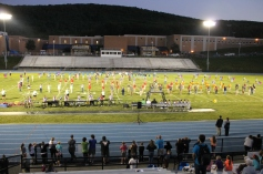 Raider Marching Band during Fall Meet The Raiders, TASD Sports Stadium, Tamaqua, 8-26-2015 (184)