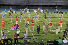 Raider Marching Band during Fall Meet The Raiders, TASD Sports Stadium, Tamaqua, 8-26-2015 (185)