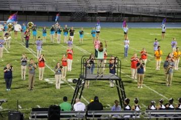 Raider Marching Band during Fall Meet The Raiders, TASD Sports Stadium, Tamaqua, 8-26-2015 (186)
