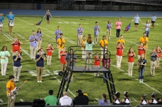 Raider Marching Band during Fall Meet The Raiders, TASD Sports Stadium, Tamaqua, 8-26-2015 (197)