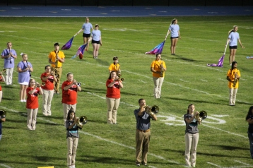 Raider Marching Band during Fall Meet The Raiders, TASD Sports Stadium, Tamaqua, 8-26-2015 (200)
