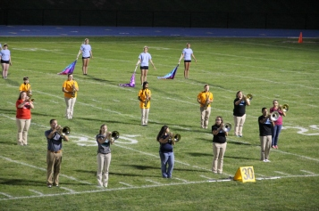 Raider Marching Band during Fall Meet The Raiders, TASD Sports Stadium, Tamaqua, 8-26-2015 (201)