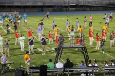 Raider Marching Band during Fall Meet The Raiders, TASD Sports Stadium, Tamaqua, 8-26-2015 (203)