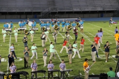 Raider Marching Band during Fall Meet The Raiders, TASD Sports Stadium, Tamaqua, 8-26-2015 (204)