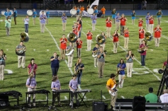 Raider Marching Band during Fall Meet The Raiders, TASD Sports Stadium, Tamaqua, 8-26-2015 (209)