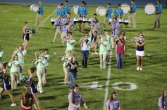 Raider Marching Band during Fall Meet The Raiders, TASD Sports Stadium, Tamaqua, 8-26-2015 (211)