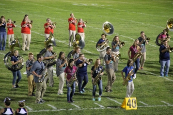 Raider Marching Band during Fall Meet The Raiders, TASD Sports Stadium, Tamaqua, 8-26-2015 (214)