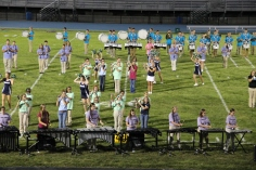 Raider Marching Band during Fall Meet The Raiders, TASD Sports Stadium, Tamaqua, 8-26-2015 (215)
