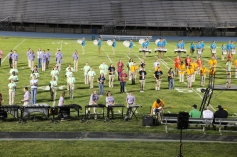 Raider Marching Band during Fall Meet The Raiders, TASD Sports Stadium, Tamaqua, 8-26-2015 (225)