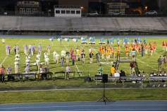 Raider Marching Band during Fall Meet The Raiders, TASD Sports Stadium, Tamaqua, 8-26-2015 (226)