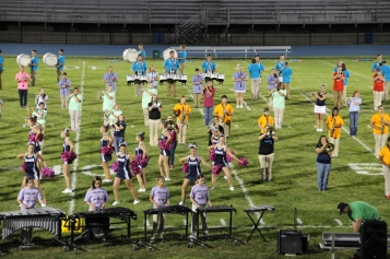 Raider Marching Band during Fall Meet The Raiders, TASD Sports Stadium, Tamaqua, 8-26-2015 (230)