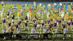 Raider Marching Band during Fall Meet The Raiders, TASD Sports Stadium, Tamaqua, 8-26-2015 (236)