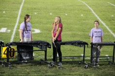Raider Marching Band during Fall Meet The Raiders, TASD Sports Stadium, Tamaqua, 8-26-2015 (24)