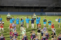 Raider Marching Band during Fall Meet The Raiders, TASD Sports Stadium, Tamaqua, 8-26-2015 (240)