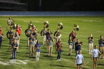 Raider Marching Band during Fall Meet The Raiders, TASD Sports Stadium, Tamaqua, 8-26-2015 (242)