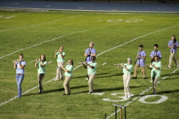 Raider Marching Band during Fall Meet The Raiders, TASD Sports Stadium, Tamaqua, 8-26-2015 (243)