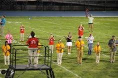 Raider Marching Band during Fall Meet The Raiders, TASD Sports Stadium, Tamaqua, 8-26-2015 (251)