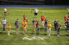 Raider Marching Band during Fall Meet The Raiders, TASD Sports Stadium, Tamaqua, 8-26-2015 (252)