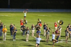 Raider Marching Band during Fall Meet The Raiders, TASD Sports Stadium, Tamaqua, 8-26-2015 (253)