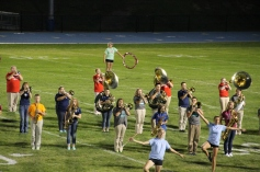 Raider Marching Band during Fall Meet The Raiders, TASD Sports Stadium, Tamaqua, 8-26-2015 (255)
