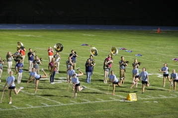 Raider Marching Band during Fall Meet The Raiders, TASD Sports Stadium, Tamaqua, 8-26-2015 (256)