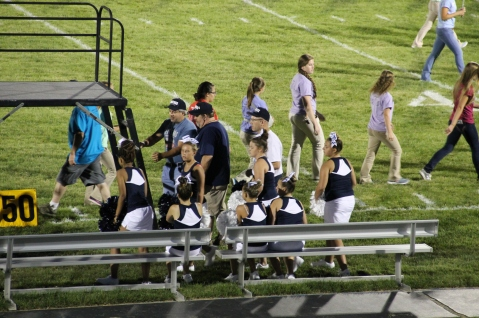 Raider Marching Band during Fall Meet The Raiders, TASD Sports Stadium, Tamaqua, 8-26-2015 (261)