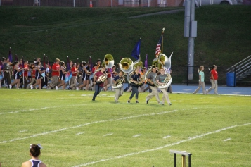 Raider Marching Band during Fall Meet The Raiders, TASD Sports Stadium, Tamaqua, 8-26-2015 (27)