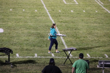 Raider Marching Band during Fall Meet The Raiders, TASD Sports Stadium, Tamaqua, 8-26-2015 (270)