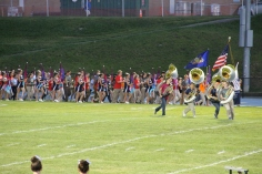 Raider Marching Band during Fall Meet The Raiders, TASD Sports Stadium, Tamaqua, 8-26-2015 (28)