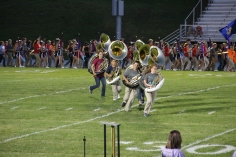 Raider Marching Band during Fall Meet The Raiders, TASD Sports Stadium, Tamaqua, 8-26-2015 (33)