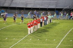 Raider Marching Band during Fall Meet The Raiders, TASD Sports Stadium, Tamaqua, 8-26-2015 (35)