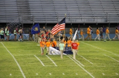 Raider Marching Band during Fall Meet The Raiders, TASD Sports Stadium, Tamaqua, 8-26-2015 (41)