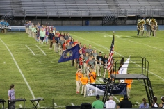 Raider Marching Band during Fall Meet The Raiders, TASD Sports Stadium, Tamaqua, 8-26-2015 (46)